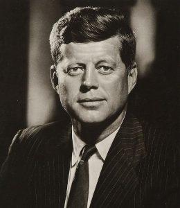 Abbildung Präsident Kennedy