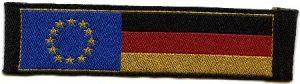Abbildung Aufnäher Deutschlandflagge